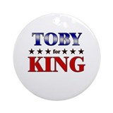 TOBY for king Ornament (Round)