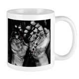 Hard Work & Prayer Small Mug
