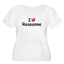 I Love Roseanne (Black) T-Shirt
