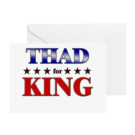 THAD for king Greeting Card