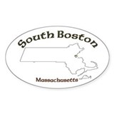 South Boston Oval Decal