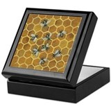 Honey Bee Keepsake Box