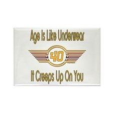 Funny 40th Birthday Rectangle Magnet (100 pack)