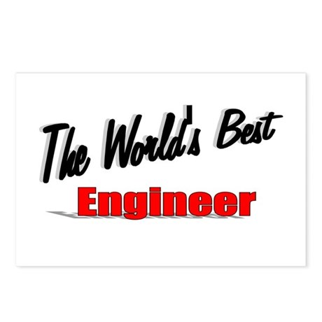 """The World's Best Engineer"" Postcards (Package of"
