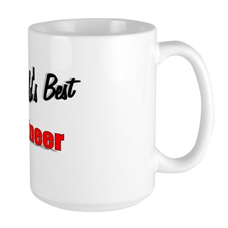 """The World's Best Engineer"" Large Mug"
