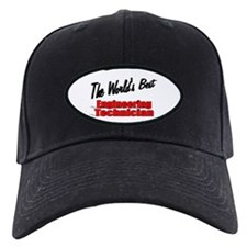 """The World's Best Engineering Technician"" Baseball Hat"