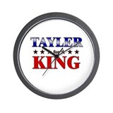 TAYLER for king Wall Clock