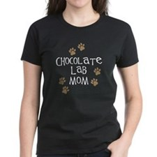 Chocolate Lab Mom Tee