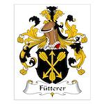 Futterer Family Crest Small Poster