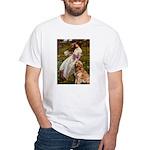 Windflowers & Golden White T-Shirt