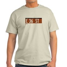 36th Street in NY T-Shirt