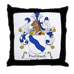 Fischbach Family Crest Throw Pillow