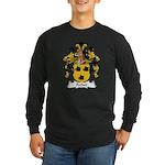 Ferber Family Crest  Long Sleeve Dark T-Shirt