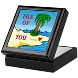 Isle of You (dark) Valentine Keepsake Box