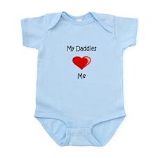 Daddies Valentine (Red) Infant Bodysuit