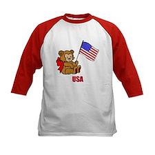 USA Teddy Bear Tee