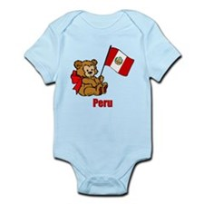 Peru Teddy Bear Infant Bodysuit