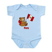 Peru Teddy Bear Infant Bodysuit