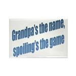 Grandpa's the name Rectangle Magnet (10 pack)