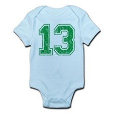 Retro 13 Number Infant Bodysuit