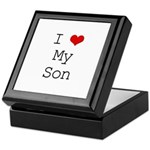 I Heart My Son Keepsake Box