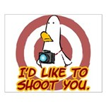 WTD: I'd like to shoot you Small Poster
