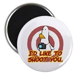 """WTD: I'd like to shoot you 2.25"""" Magnet (10 pack)"""