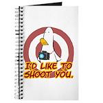 WTD: I'd like to shoot you Journal