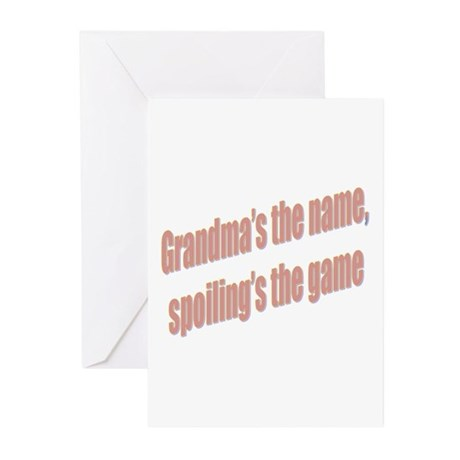 Grandma's the name Greeting Cards (Pk of 10)