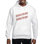 Grandma's the name Hooded Sweatshirt