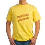 Grandma's the name Yellow T-Shirt