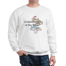 Fireworks Grandmother of the Bride Sweatshirt