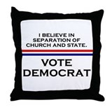 Cute Anti hillary clinton Throw Pillow