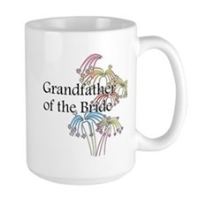 Fireworks Grandfather of the Bride Mug