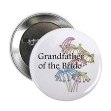 "Fireworks Grandfather of the Bride 2.25"" Button"