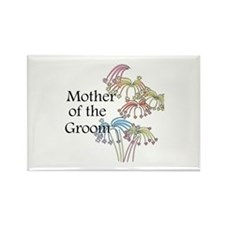 Fireworks Mother of the Groom Rectangle Magnet