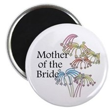 Fireworks Mother of the Bride Magnet
