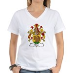 Ehler Family Crest Women's V-Neck T-Shirt