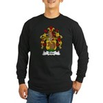 Ehler Family Crest Long Sleeve Dark T-Shirt