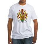 Ehler Family Crest Fitted T-Shirt