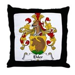 Ehler Family Crest Throw Pillow
