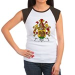 Ehler Family Crest Women's Cap Sleeve T-Shirt