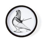 Ancient Shortface Pigeon Wall Clock