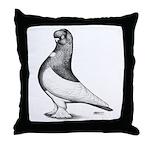 Ancient Shortface Pigeon Throw Pillow