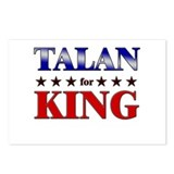 TALAN for king Postcards (Package of 8)