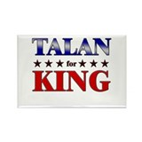 TALAN for king Rectangle Magnet (10 pack)