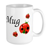 Lady Bug Ceramic Mugs
