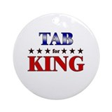TAB for king Ornament (Round)