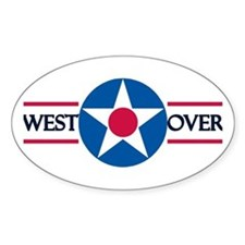 Westover Air Force Base Oval Decal
