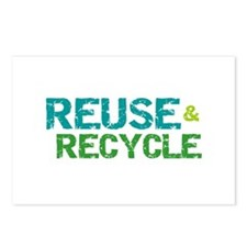 Reuse and Recycle Postcards (Package of 8)